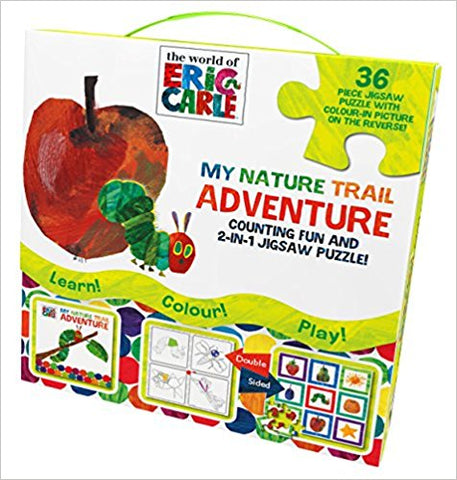 The World of Eric Carle Activity Book and 2-in-1 Jigsaw Puzzle - Bee's Emporium
