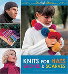 The Craft Library: Knits for Hats, Gloves & Scarves [Nov 01, 2011] Harding, Louisa - Bee's Emporium