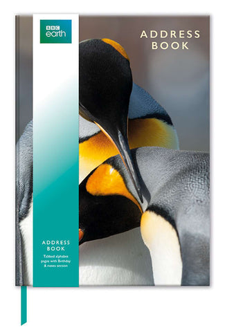 BBC Earth King Penguins Address & Birthday Book