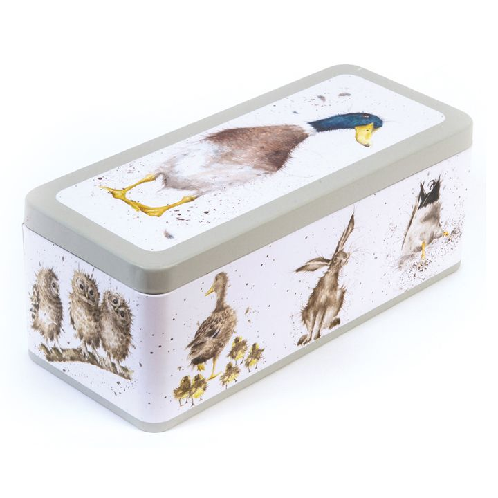 Wrendale Designs Cracker Tin - Country Set Design