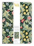 V&A Leicester Wallpaper A5 Luxury Notebook - Bee's Emporium