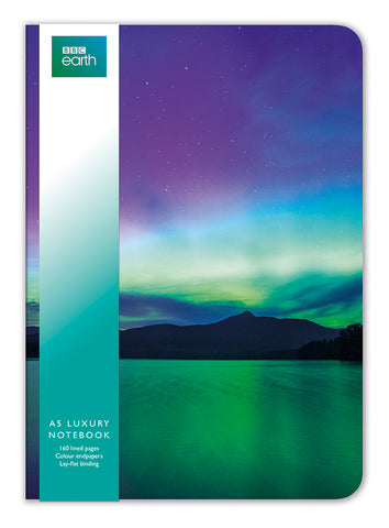 BBC Earth Northern Lights A5 Luxury Notebook - Bee's Emporium