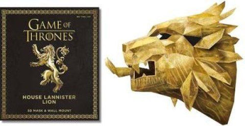 Game of Thrones Mask: House Lannister Lion - Bee's Emporium