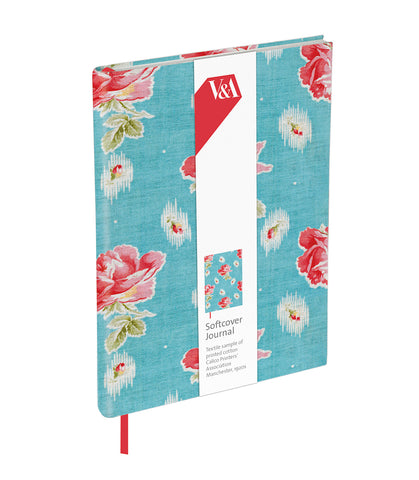 V&A Chintz Roses Softcover Journal - Bee's Emporium