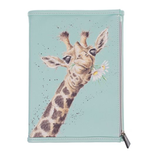 Wrendale Designs - Zoology Collection Giraffe Notebook Wallet
