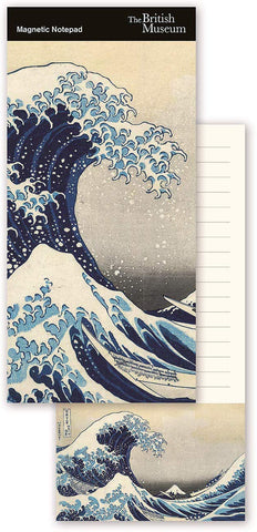 The British Museum Hokusai The Great Wave Magnetic Fridge Shopping To-Do List Notepad