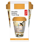 British Library The Mad Hatter's Tea Party Reusable Bamboo Travel Mug - Bee's Emporium