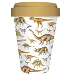 Natural History Museum Dinosaurs Reusable Bamboo Travel Mug - Bee's Emporium