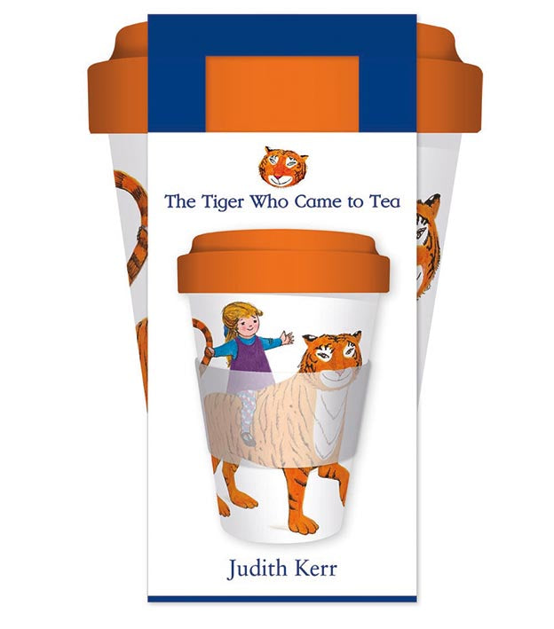 The Tiger Who Came to Tea Reusable Bamboo Travel Mug - Bee's Emporium