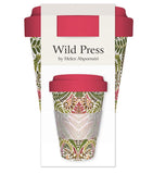 Wild Press Pteridomania Reusable Bamboo Travel Mug - Bee's Emporium