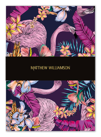 Matthew Williamson Flamingo Bay Deluxe Notebook