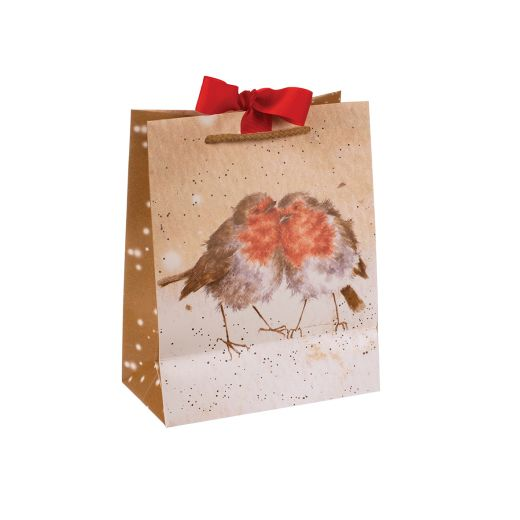 Wrendale Designs - Medium Robin Christmas Gift Bag