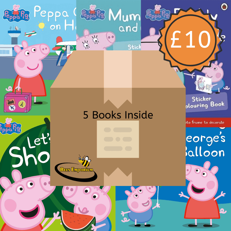 Peppa Pig Book Box - Bee's Emporium