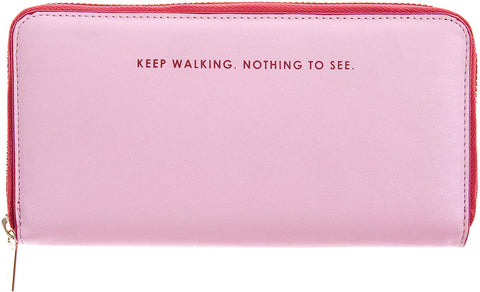 Pink & Red - Slogan Wallet (Purse) - Bee's Emporium