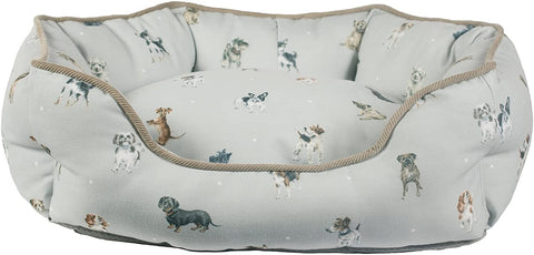 Wrendale Designs - Small Dog Bed - 50cm x 40cm x 20cm - Bee's Emporium