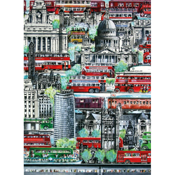 Transport for London - City of London Blank Greeting Card with Envelope