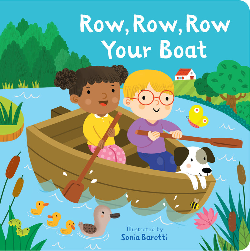 Row, Row, Row Your Boat (Board Book) - Bee's Emporium