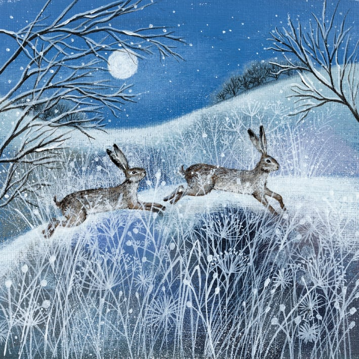 Deep Midwinter Box of 20 Charity Christmas Cards