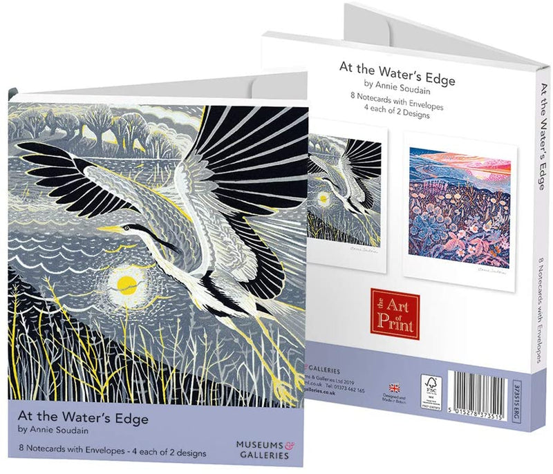 Annie Soudain At the Water's Edge Rectangle Notecard Wallet - Bee's Emporium