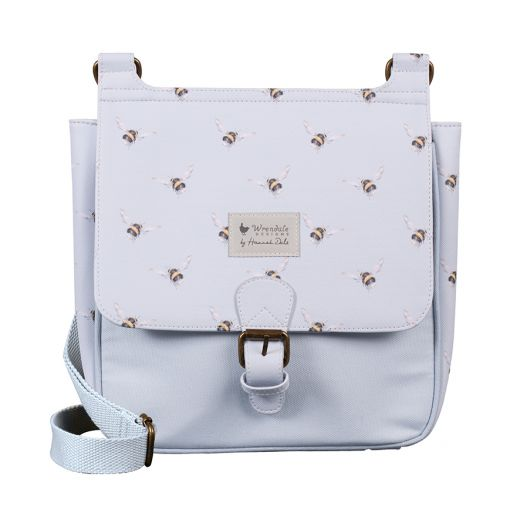 Wrendale Designs 'Flight of the Bumblebee' Satchel Bag - Bee's Emporium