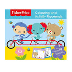 Fisher Price Colouring and Activity Placemats - Bee's Emporium