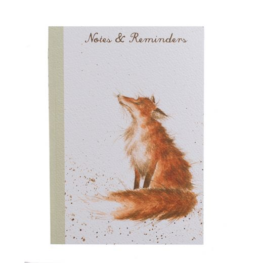 Wrendale Designs A5 Fox Notebook - Bee's Emporium