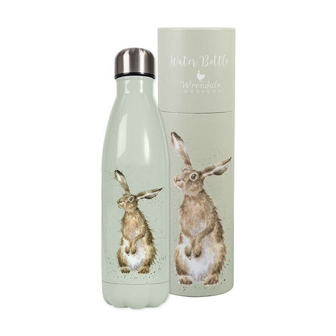 Wrendale Designs - Hare Water Bottle - Bee's Emporium