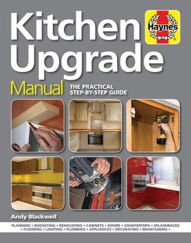 Kitchen Upgrade Manual: A Complete Step-by-Step Guide (Hardcover) - Bee's Emporium