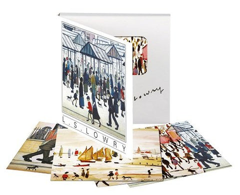 Museums & Galleries Marketing Classics 123 x 123mm L S Lowry Designed Note Cards - Bee's Emporium