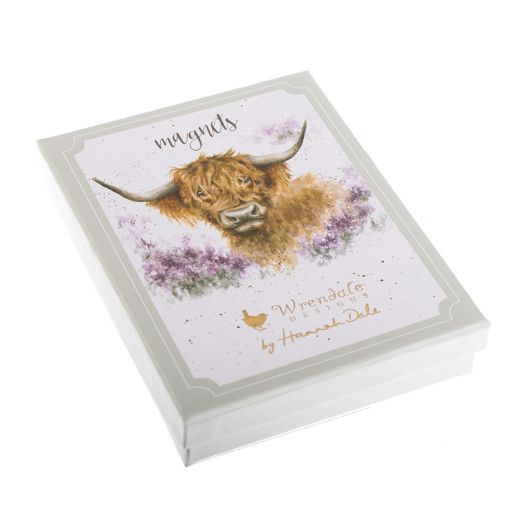 Wrendale Designs Box of 6 Illustrated Magnets Gift Set Box - Bee's Emporium