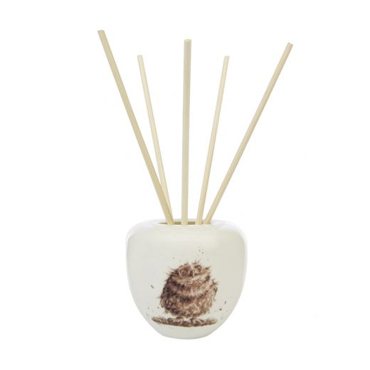 Wax Lyrical - Wrendale Designs 'Woodland' Owl 200ml Reed Diffuser - Bee's Emporium