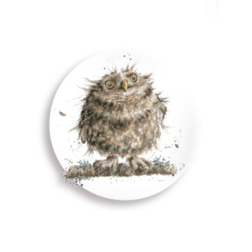 Wrendale Country Set Collection Owl Magnet - Bee's Emporium
