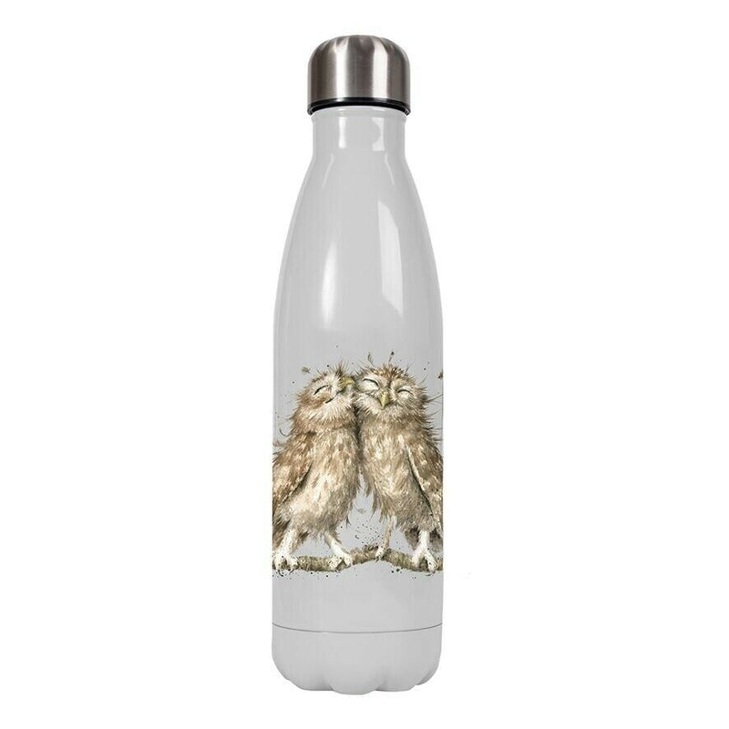Wrendale Designs - Owl Water Bottle - Bee's Emporium
