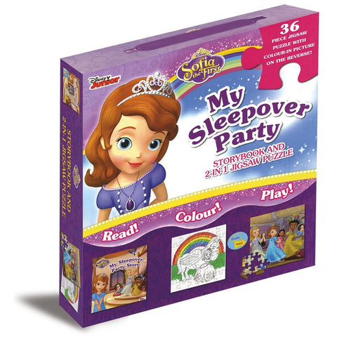 Disney Sofia the First Story & Jigsaw Carry-Along Box - Bee's Emporium