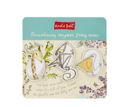 Roald Dahl Magnetic Sticky Notes (3 Pk)