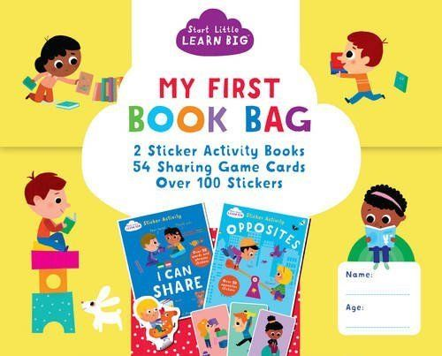 Start Little Learn Big My First Book Bag (Learning Bag) - Bee's Emporium