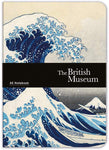 The British Museum Hokusai The Wave A5 Luxury Notebook - Bee's Emporium