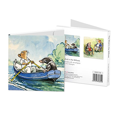 The Wind in the Willows Set of 8 Notecards Wallet - Bee's Emporium