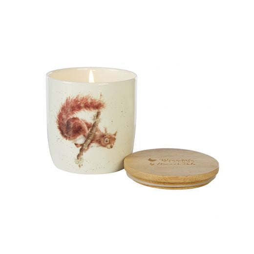 Wax Lyrical - Wrendale Designs 'Woodland' Squirrel Candle Jar - Bee's Emporium