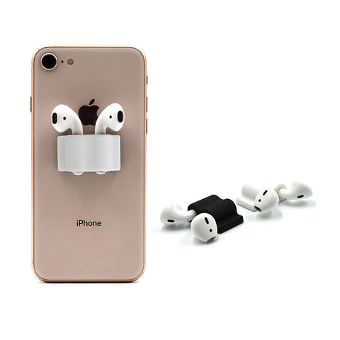 RipTech Apple AirPod Holder Accessory | AirPods and Earbud Holder (White 2 Units)