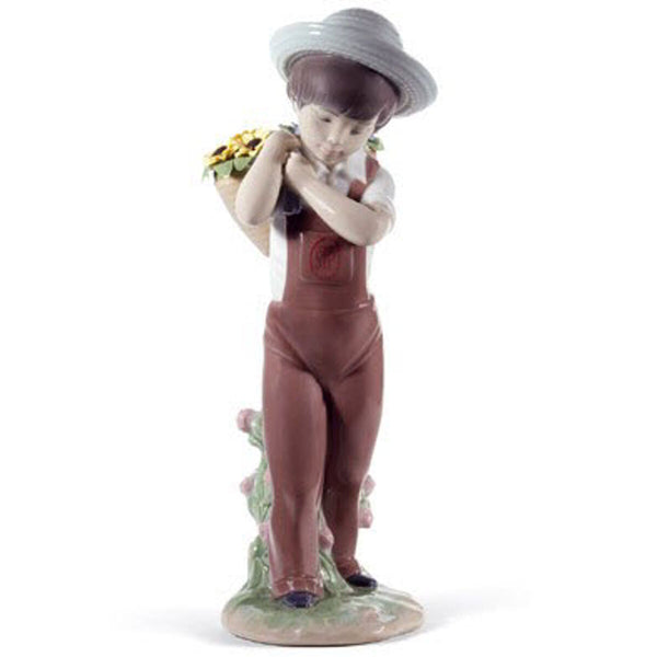 Lladro Gathering flowers (60th Anniversary) Dalmazio Design