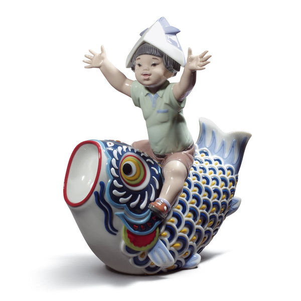 Lladro Happy Boy's day Dalmazio Design