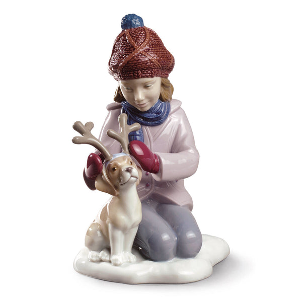 Lladro My little reindeer Dalmazio Design