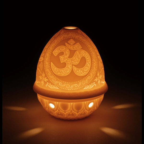 Lladro Lithophane votive light - Om Dalmazio Design