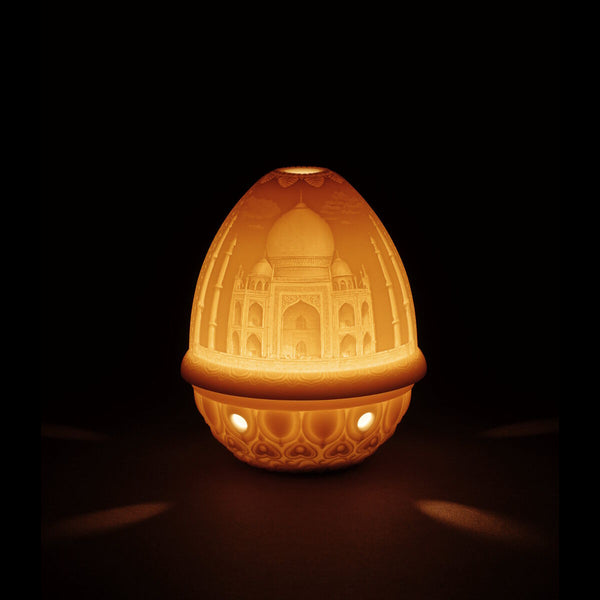 Lladro Lithophane votive light - Taj Mahal Dalmazio Design