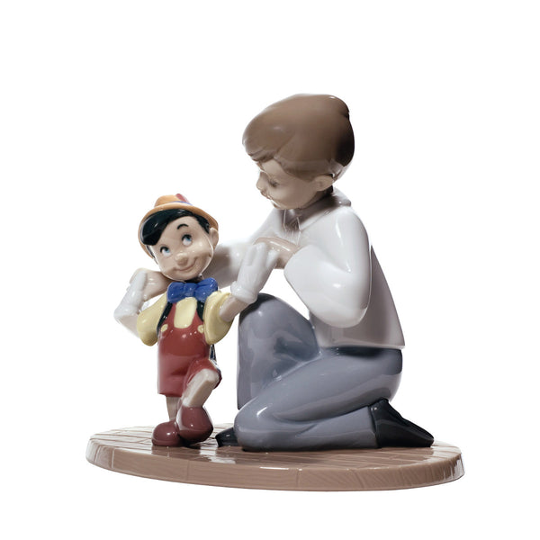 Nao Pinocchio's first steps Dalmazio Design