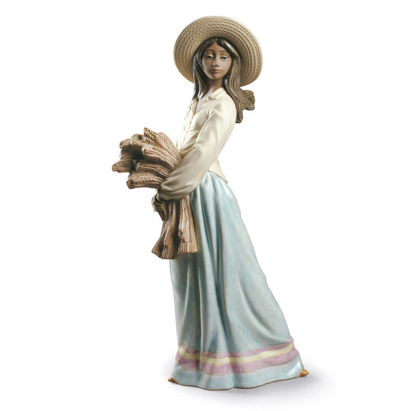 Nao Woman with wheat Dalmazio Design
