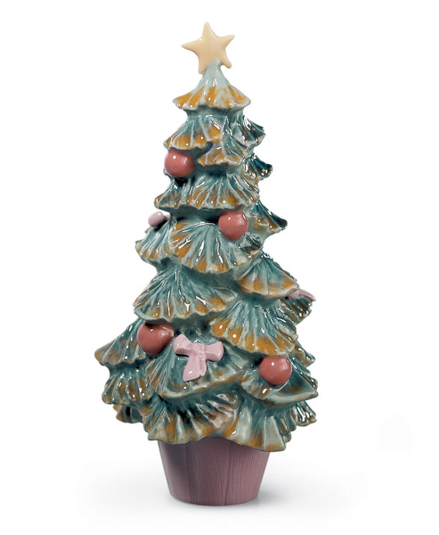 Lladro Christmas Tree Figurine - Dalmazio Design