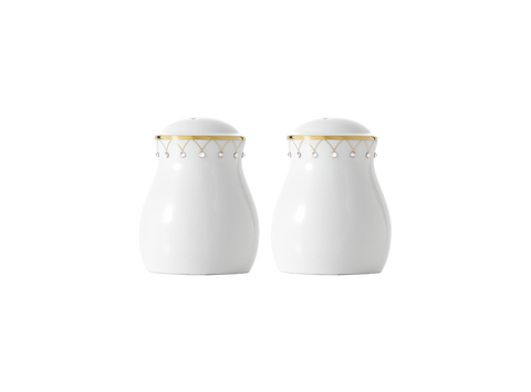 Princess Gold Salt & Pepper Shaker, Gold