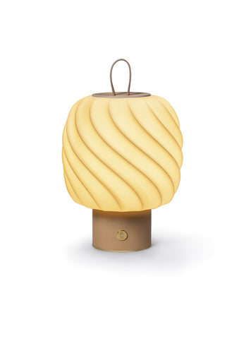 Ice Cream portable lamp. Medium. Nude